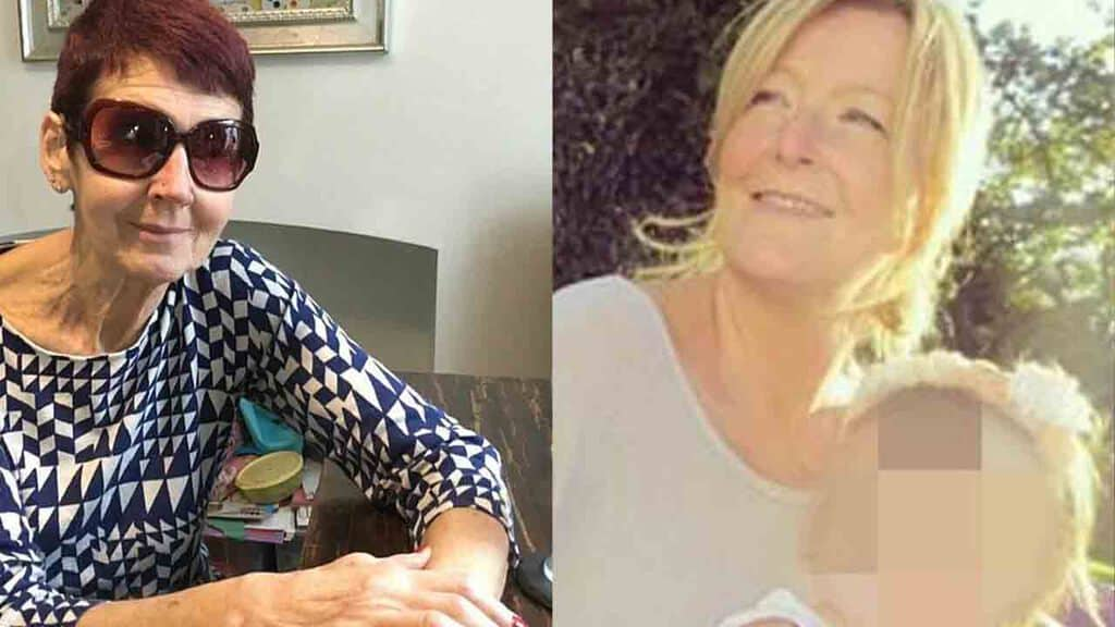 Helen Maguire e Christine Skipsey