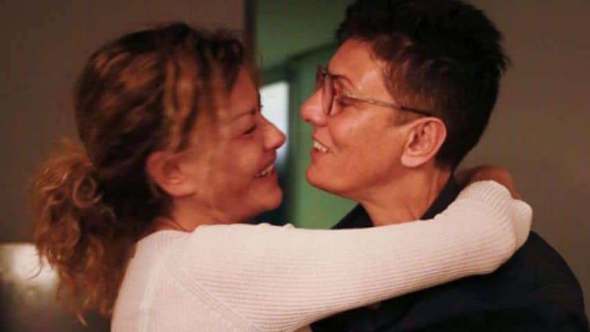 Imma Battaglia e sua moglie Eva Grimaldi