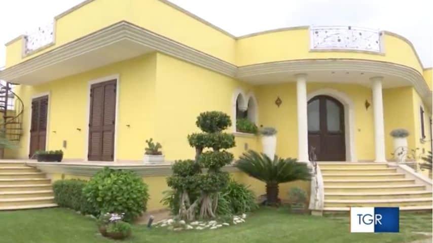 La casa di Marianna Greco a Novoli, dove è stato ritrovato il corpo della donna. Immagine: TGR Puglia