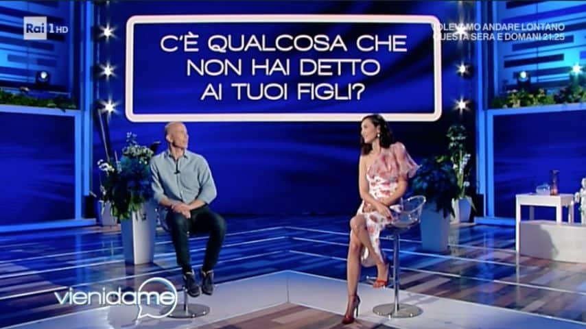 'Vieni da me', Giorgio Mastrota è l'ospite odierno di Caterina Balivo