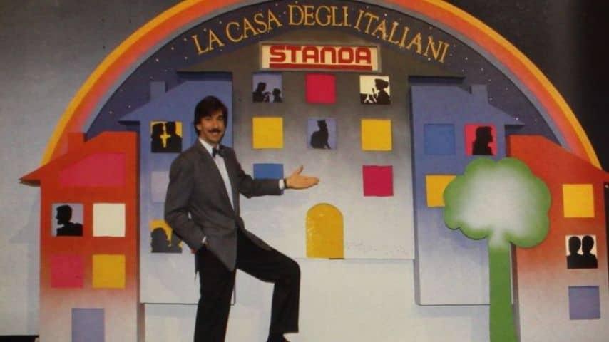 Marco Columbro in tv a fine anni '80