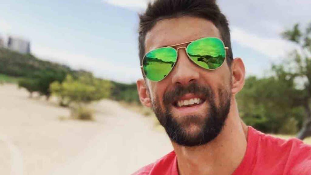 Primo piano di Michael Phelps