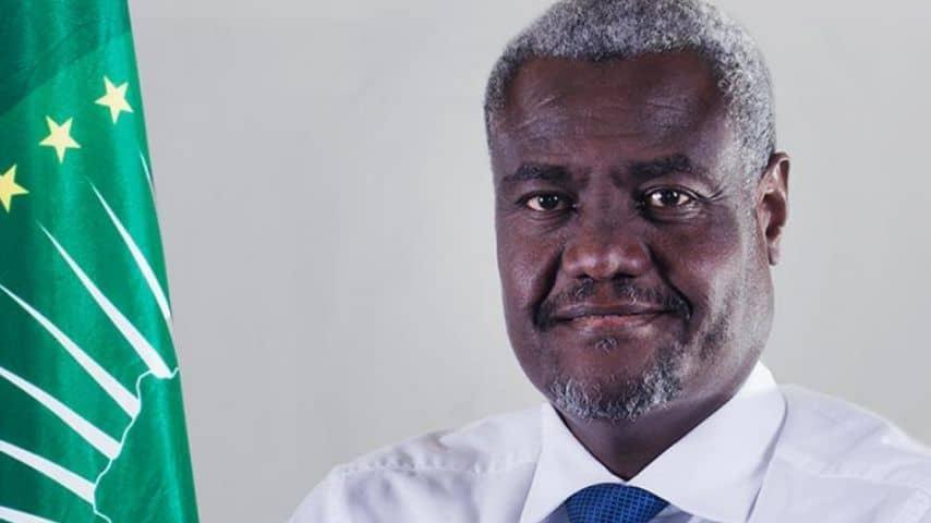 Moussa Faki Mahamat, presidente della Commissione dell'Unione africana. Immagine: Sito African Union