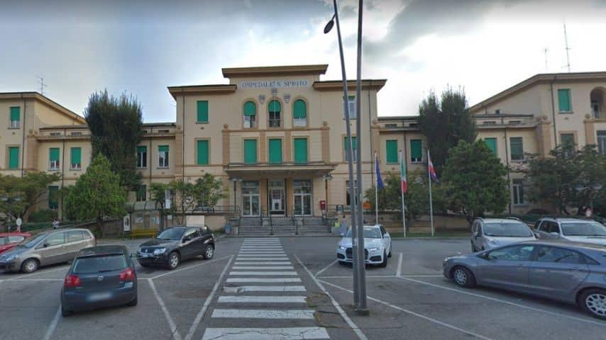 Ospedale Santo Spirito di Casale Monferrato. Immagine: Google Maps