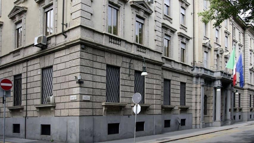 Palazzo della Questura di Torino in corso Vinzaglio. Immagine: Sito Museo Torino