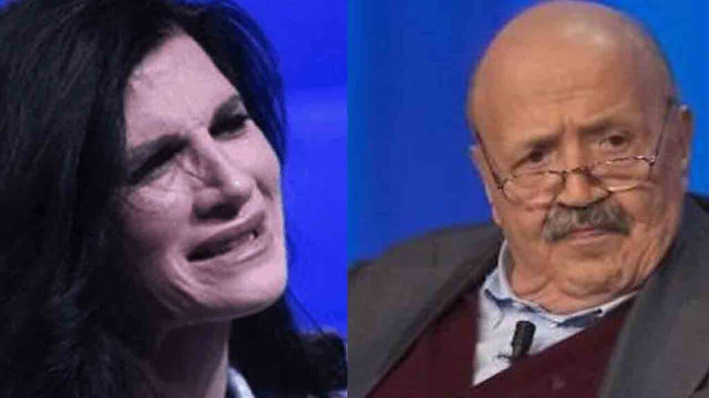 Pamela Prati e Maurizio Costanzo