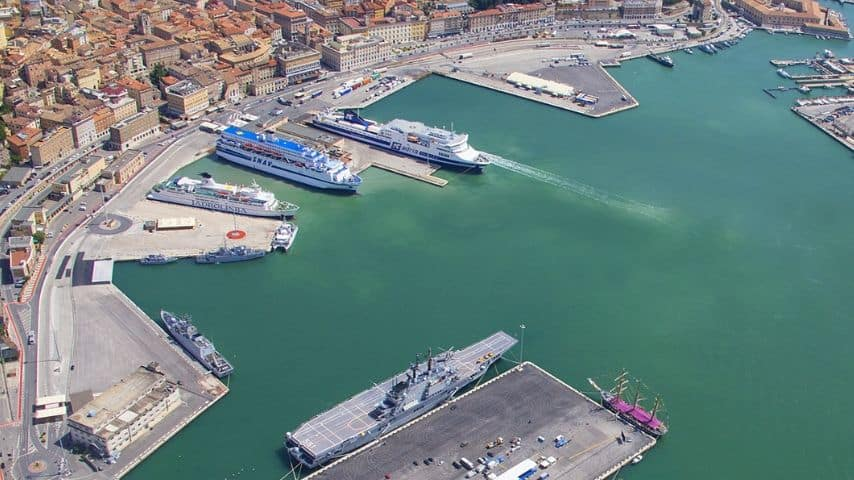 Porto di Ancona. Immagine: Sito Autorità di Sistema Portuale del Mare Adriatico Centrale