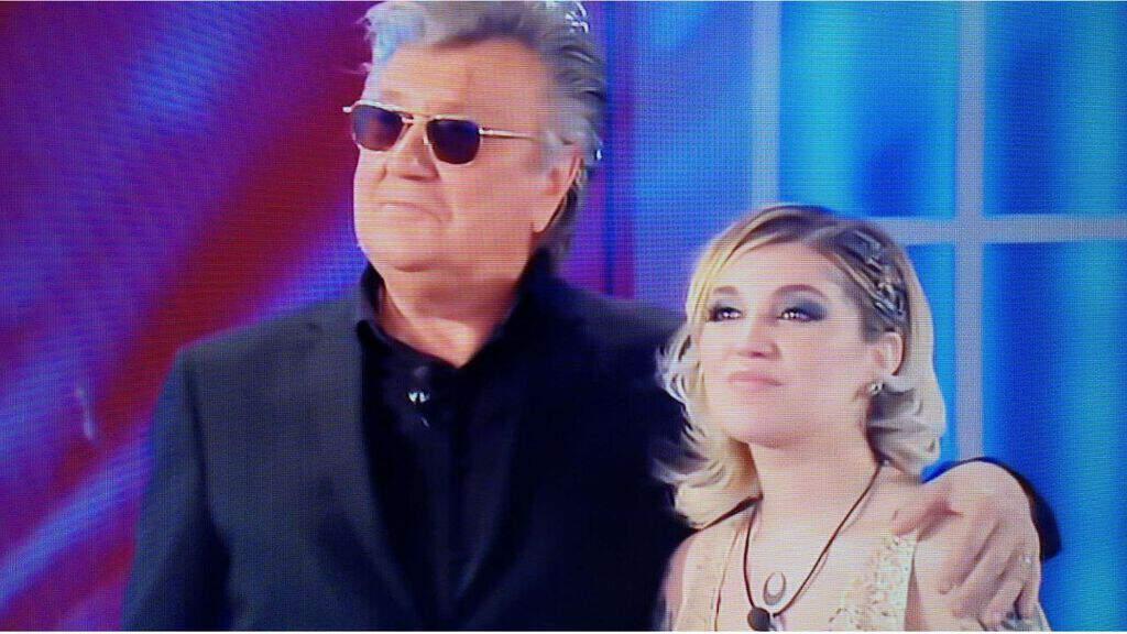 Veronica Satti e Bobby Solo al Grande Fratello