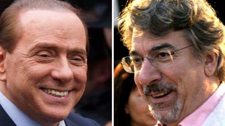 Silvio-Berlusconi-e-Marco-Columbro-Immagini-di-repertorio