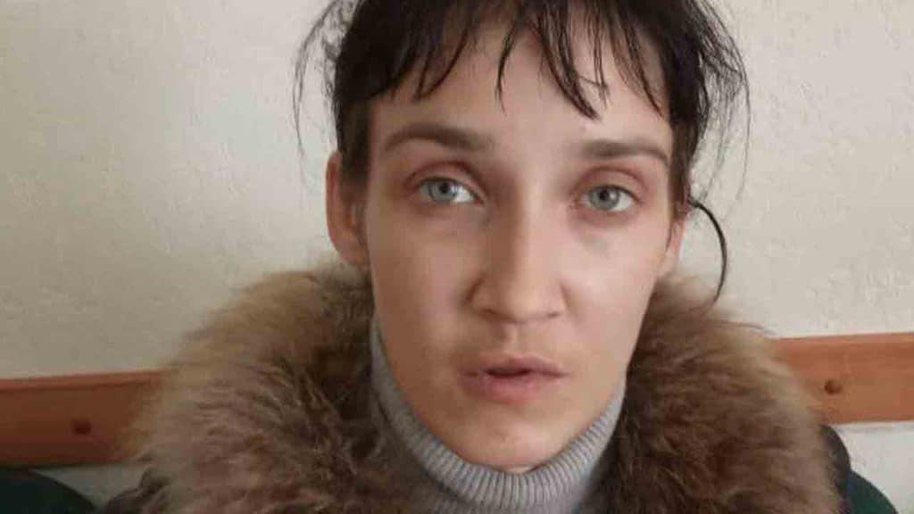Primo piano di Svetlana Mirzoeva