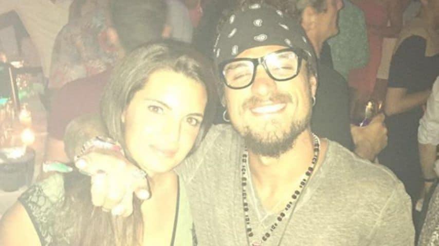 Una foto di Elena Braccini pubblicata nel 2016 che la ritrae con il suo ex a Ibiza. Immagine: Elena Braccini/Instagram