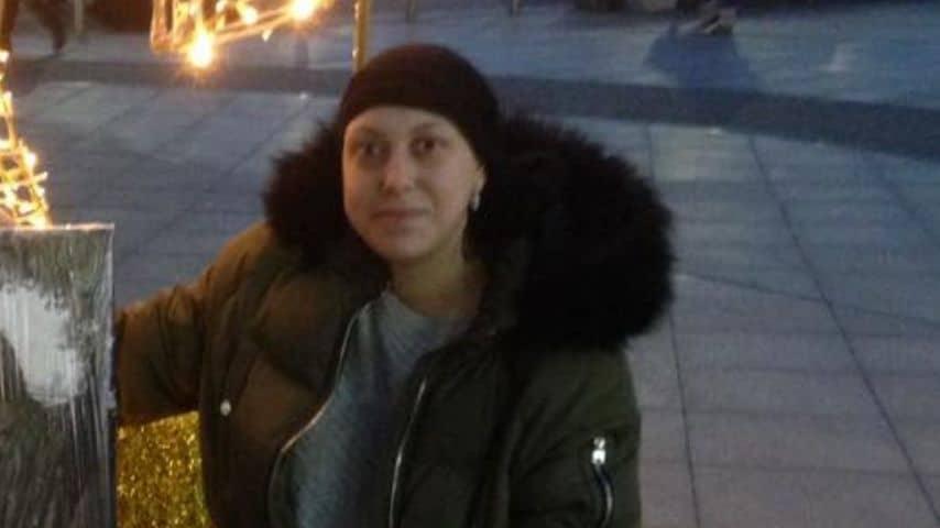 Una foto di Josey durante la chemioterapia. Immagine: Paul Suffolk/Facebook