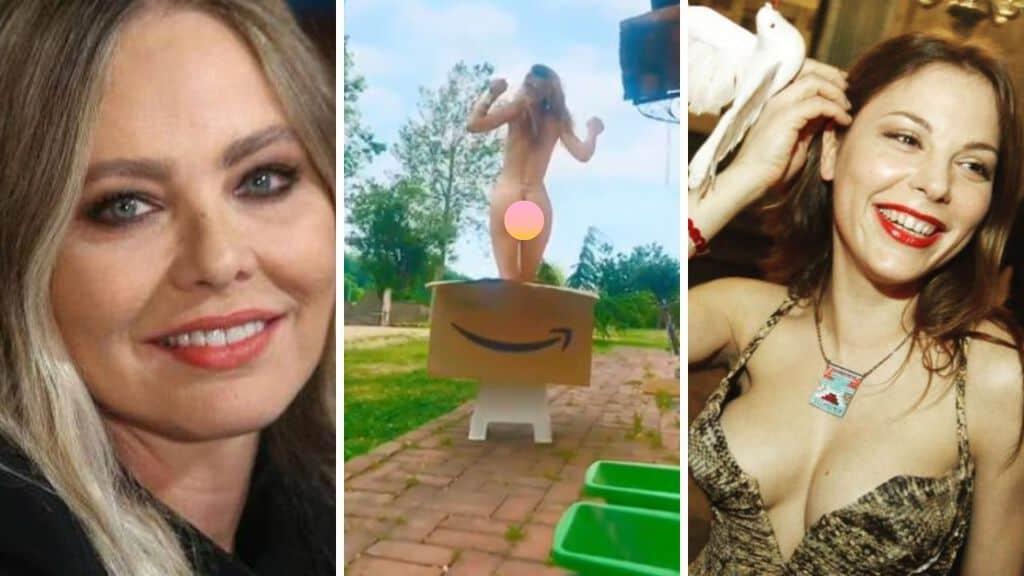 Naike Rivelli nuda su Instagram per difendere Ornella muti