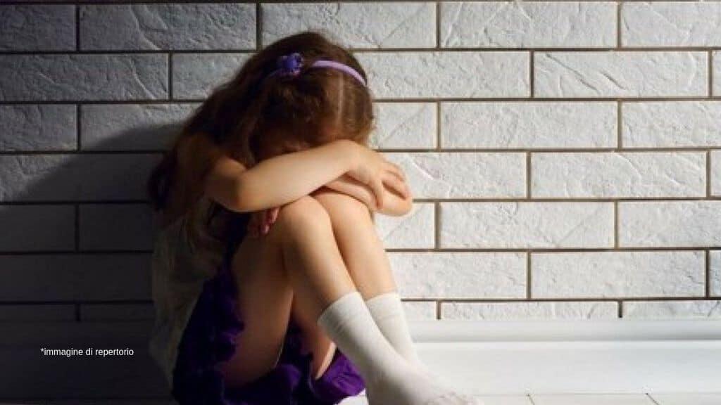 Violenza su bambina Immagine di repertorio