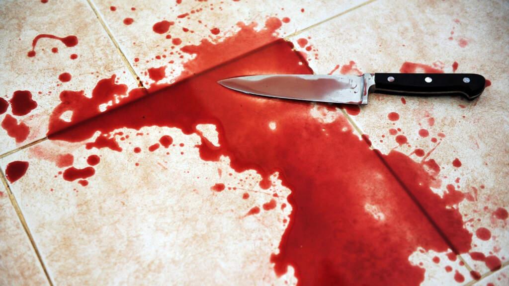 coltello insanguinato