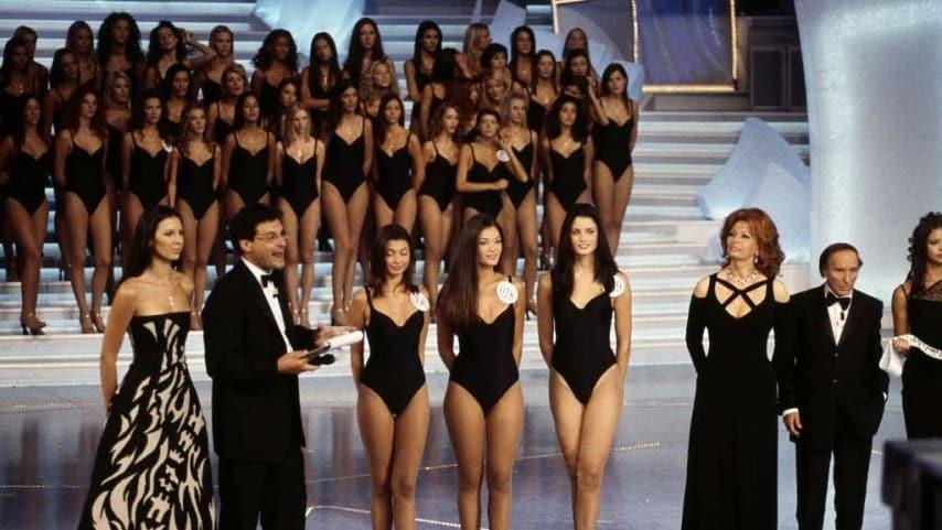 Daniela Ferolla a Miss Italia 2001