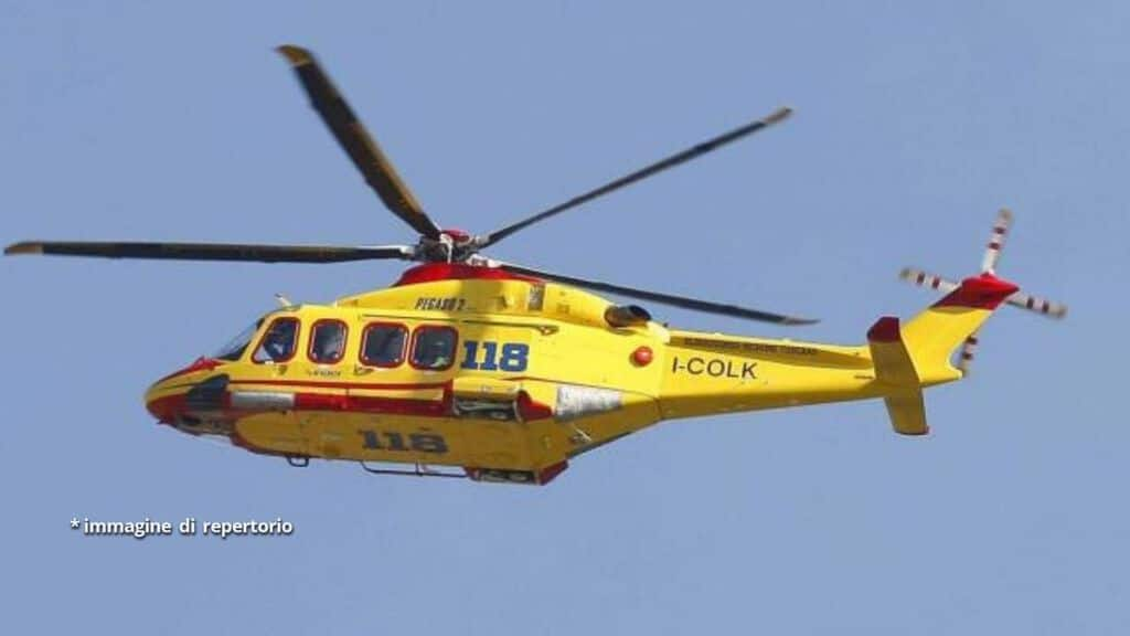 elicottero di soccorso
