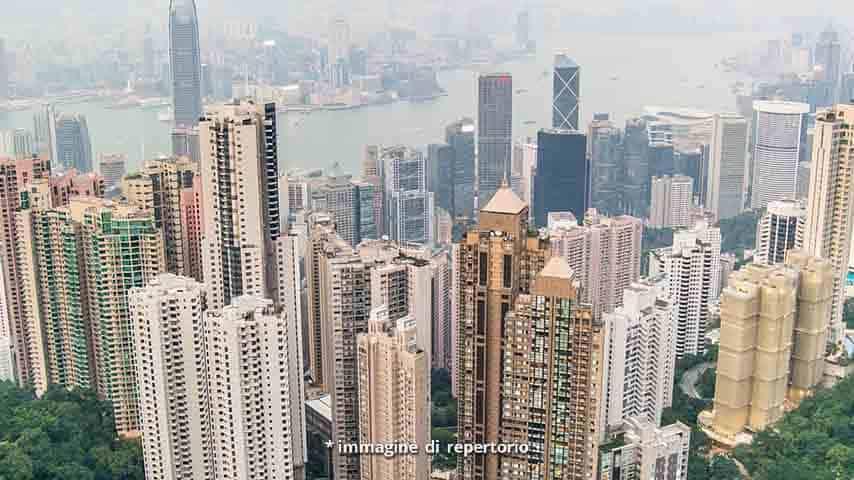 Veduta di Hong Kong