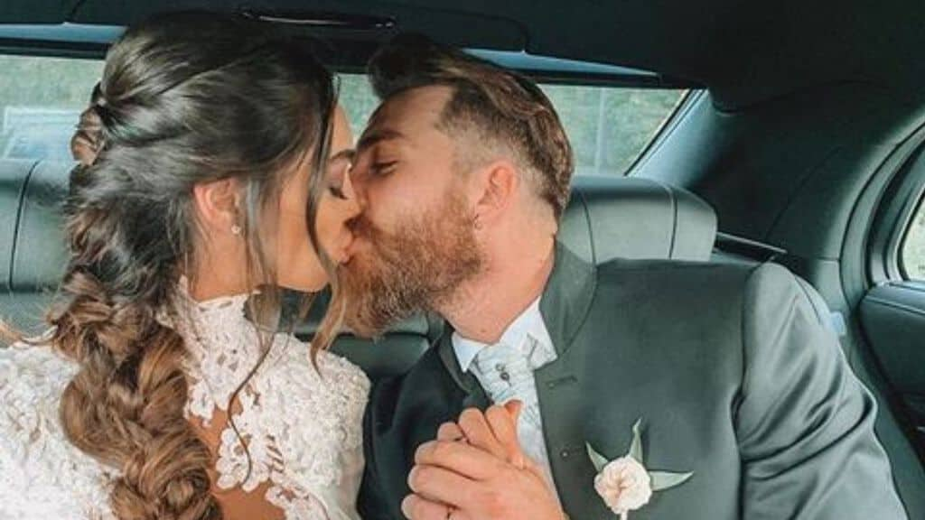 lorella boccia e niccolo presta sposi