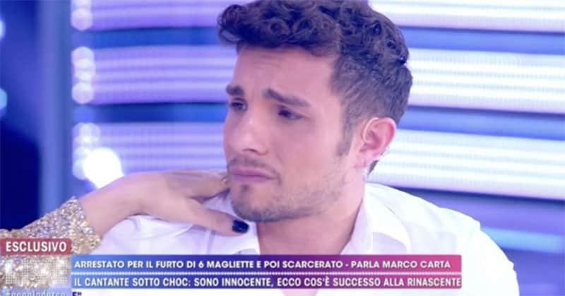 Luca Dirisio attacca Barbara D'Urso e Marco Carta