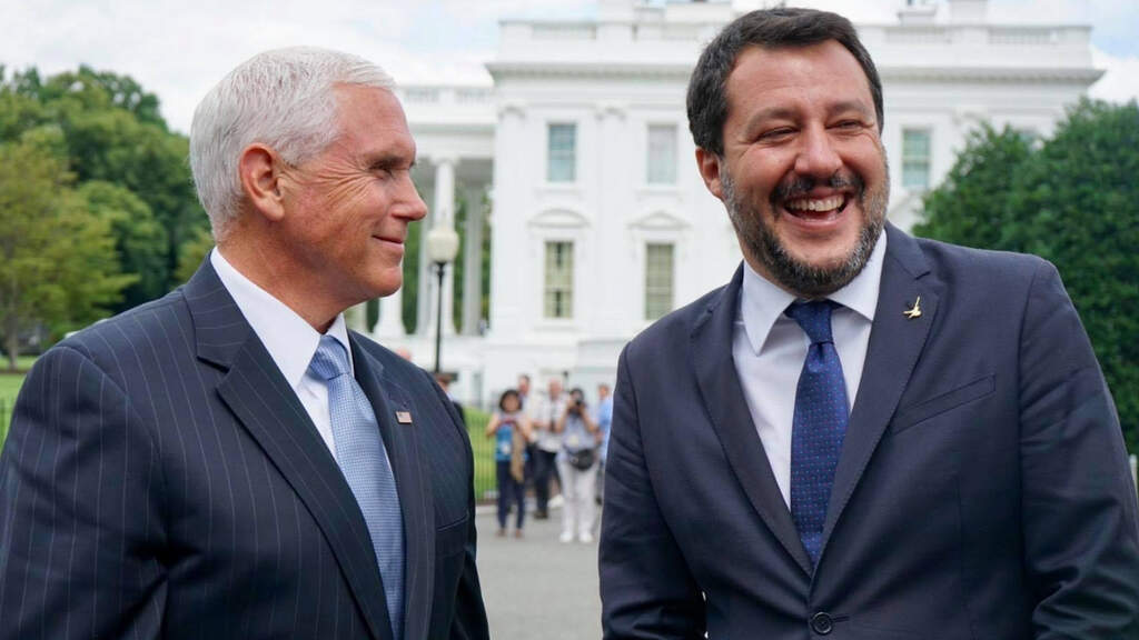 mike pence matteo salvini