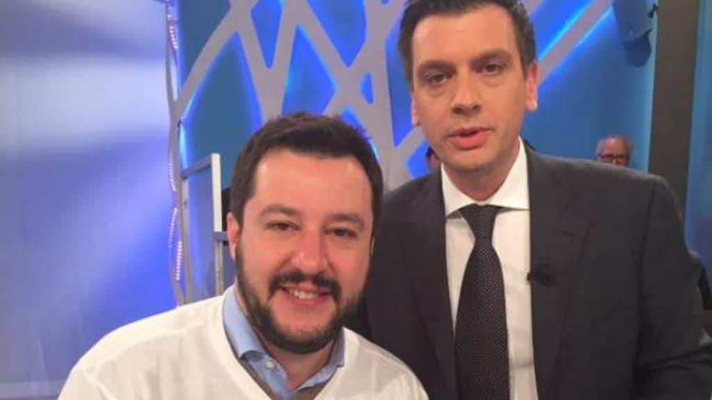 Il caso politico del biografo di Salvini a Unomattina