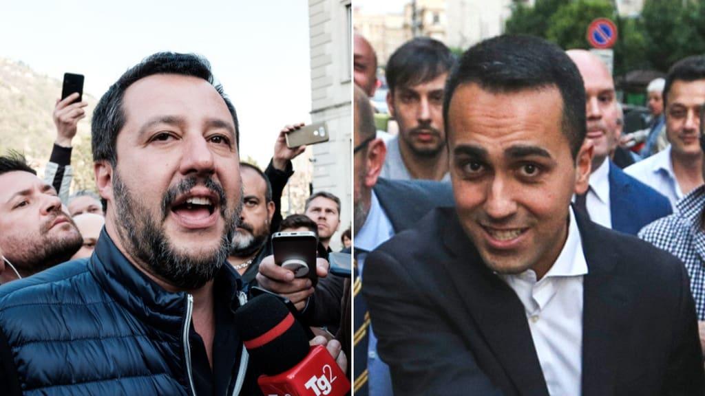 Alessandro Di Battista ha accusato Salvini di voler fare cadere il governo