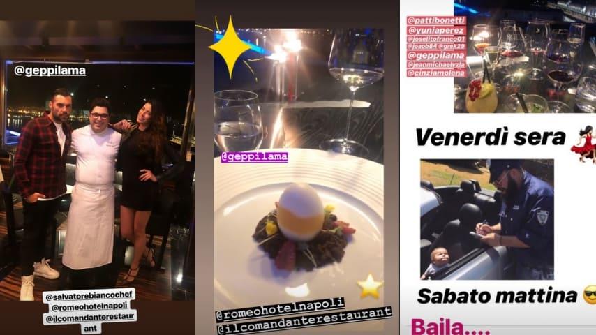 Le Stories di Aida Yespica su Instagram