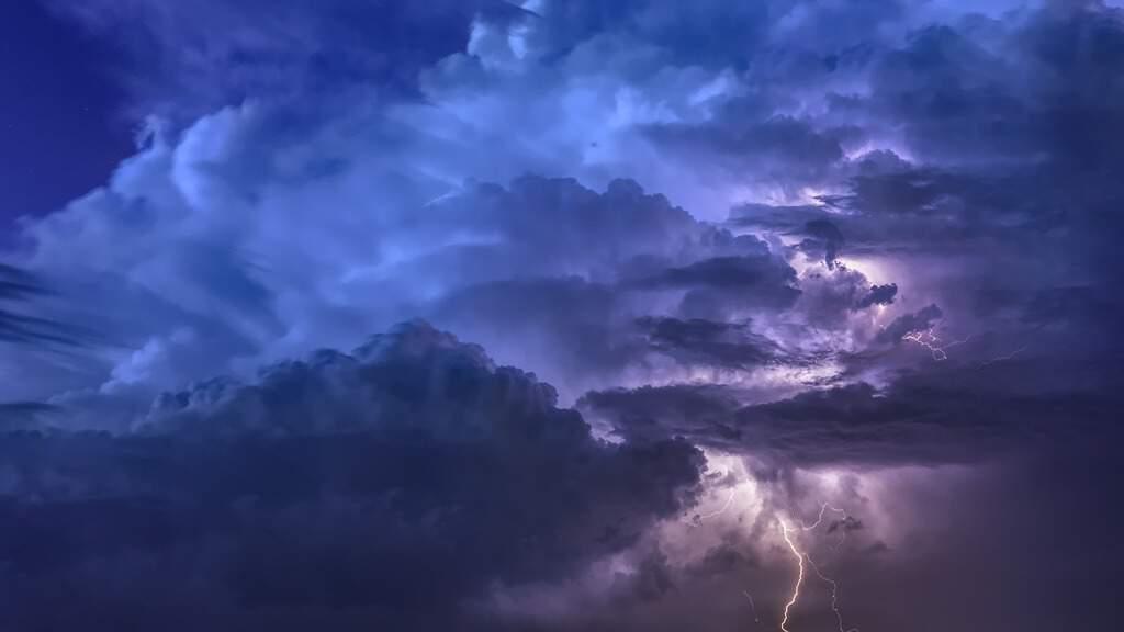 Immagine di un temporale