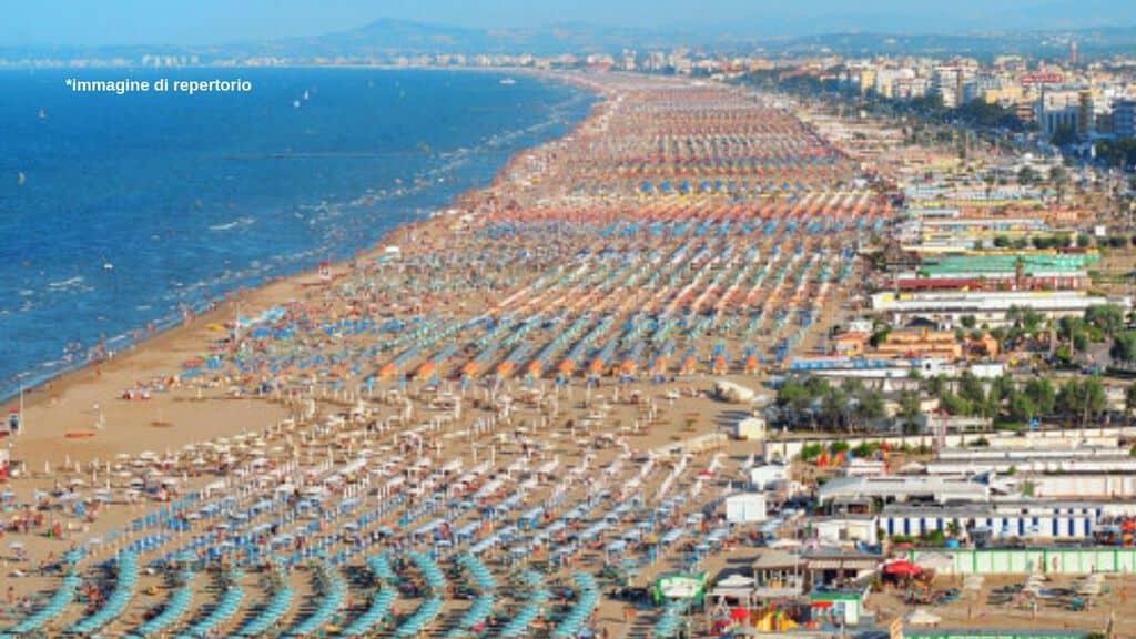 Riviera romagnola immagine di repertorio