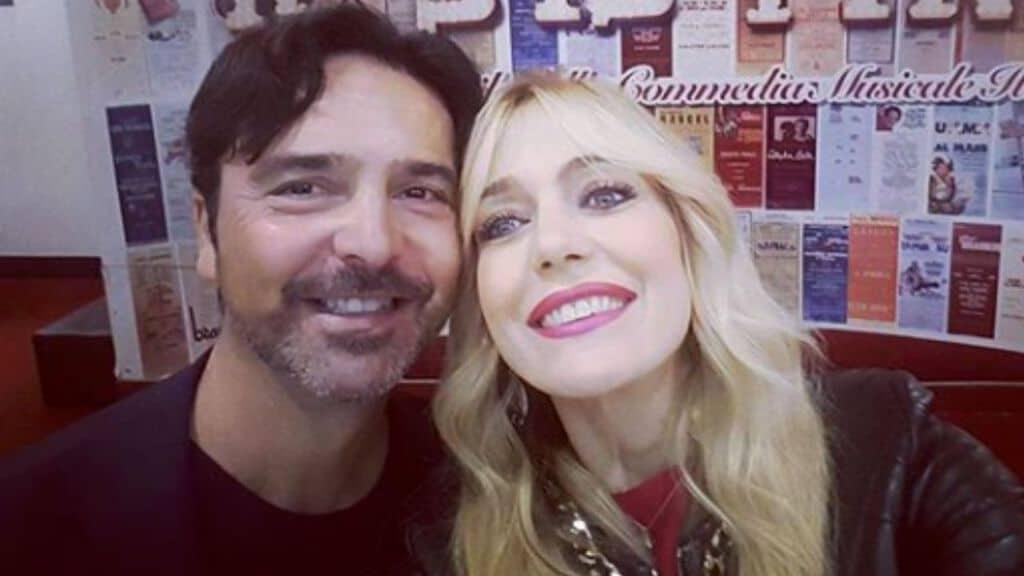Stefano Orfei e Brigitta Boccoli Instagram