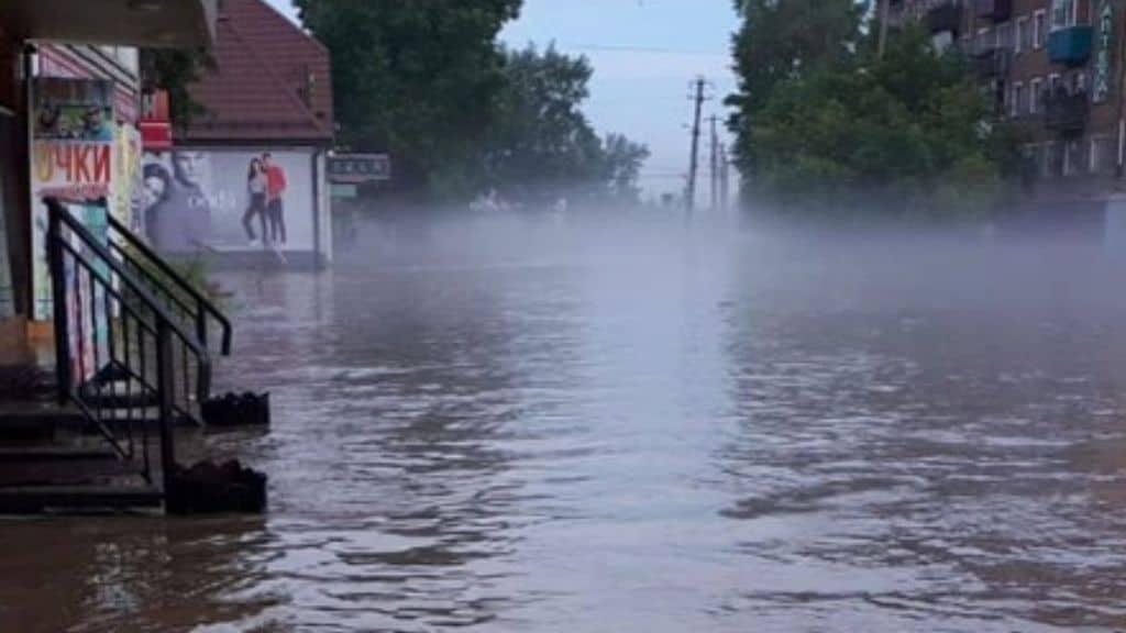 alluvione in siberia