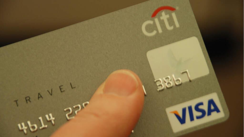 carta di credito evidenza