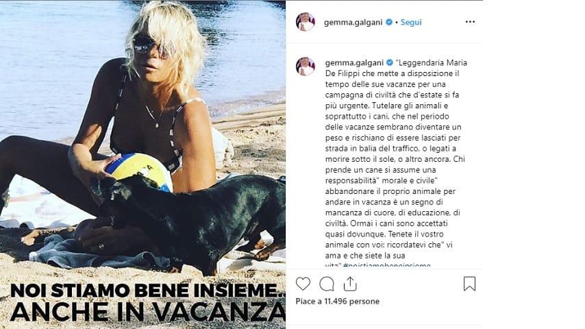 Gemma Galgani su Instagram