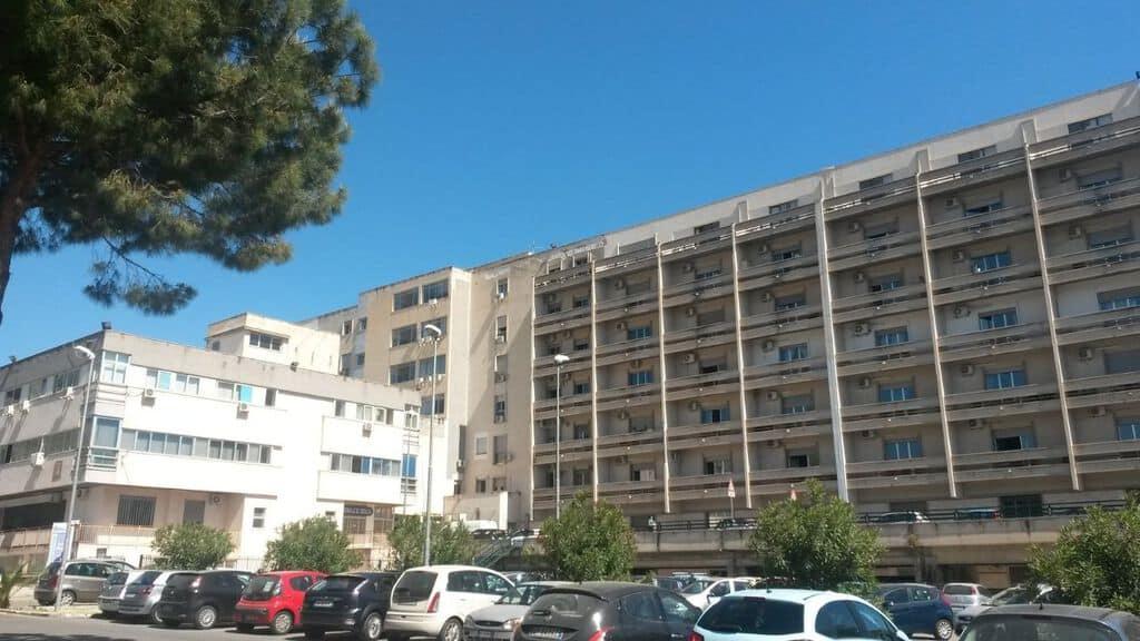 facciata dell'ospedale villa sofia di palermo