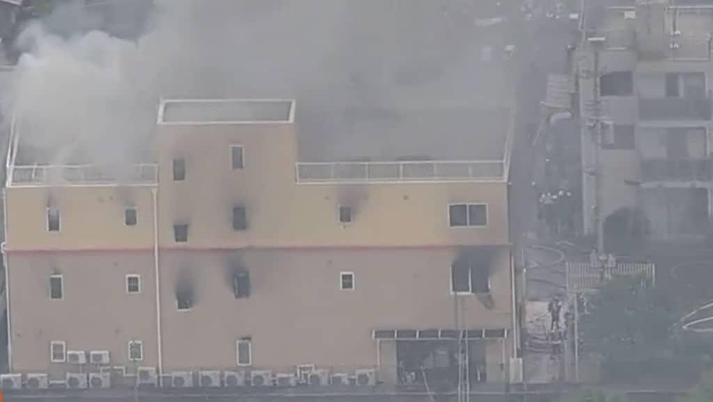 Kyoto Animation: un piromane dà fuoco al famoso studio d'animazione
