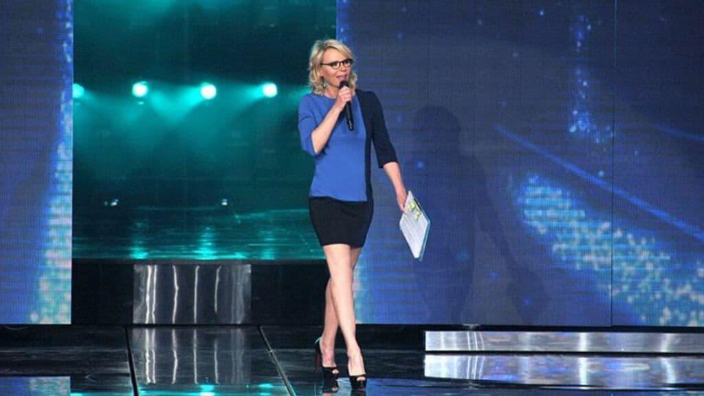 La conduttrice tv Maria De Filippi