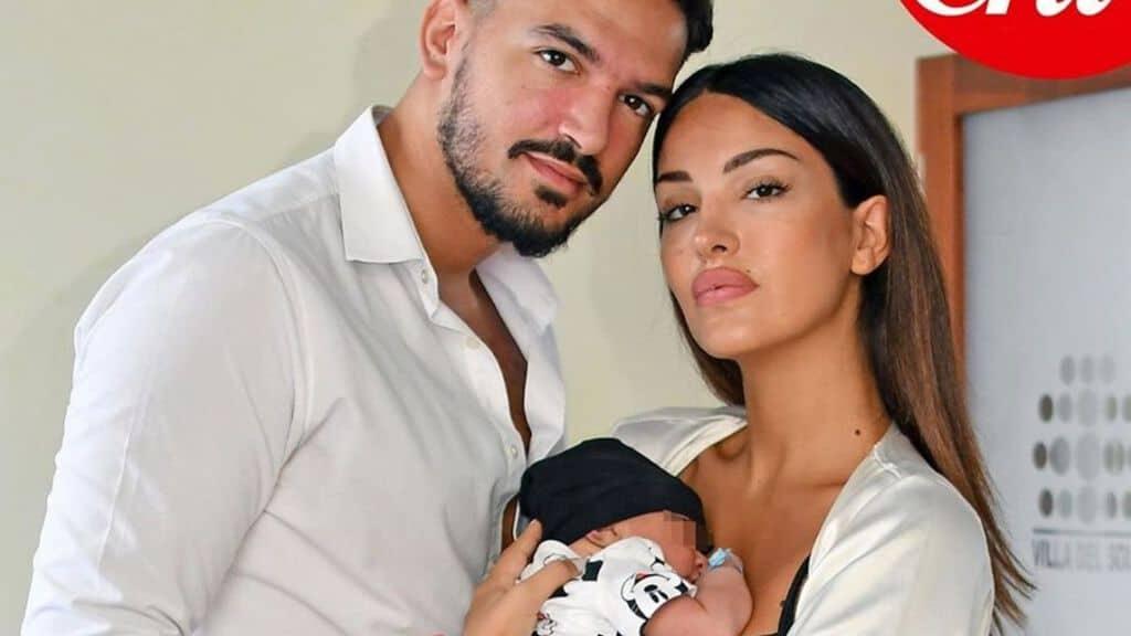 Pietro Tartaglione e Rosa Perrotta con il figlio Domenico