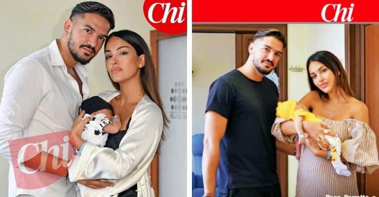 Rosa Perrotta Pietro Tartaglione con il figlio Domenico. Fonte: Chi Magazine