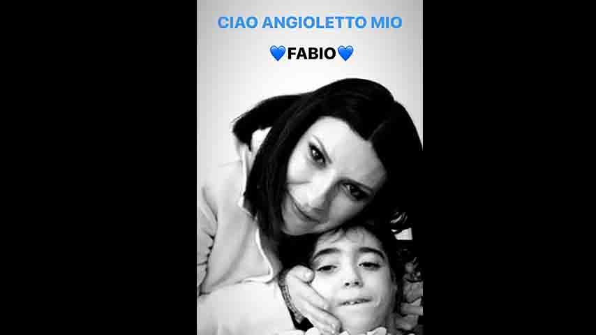 Storia di Pausini su Instagram