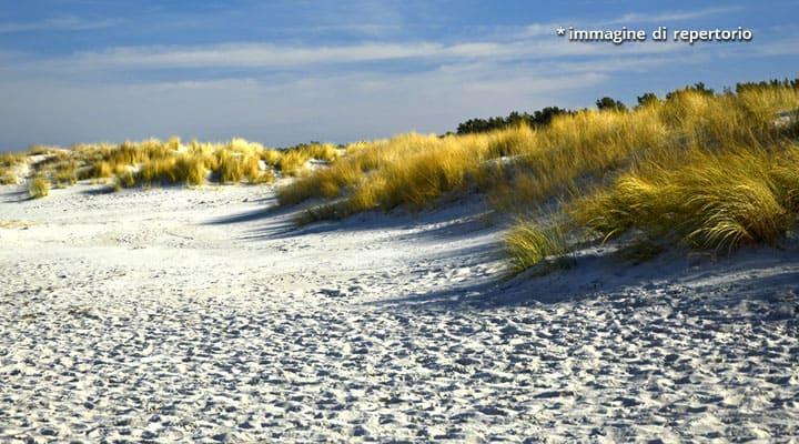dune in spiaggia