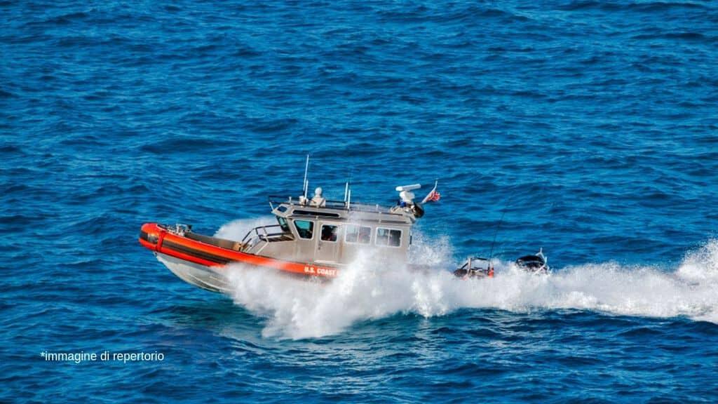 barca della guardia costiera