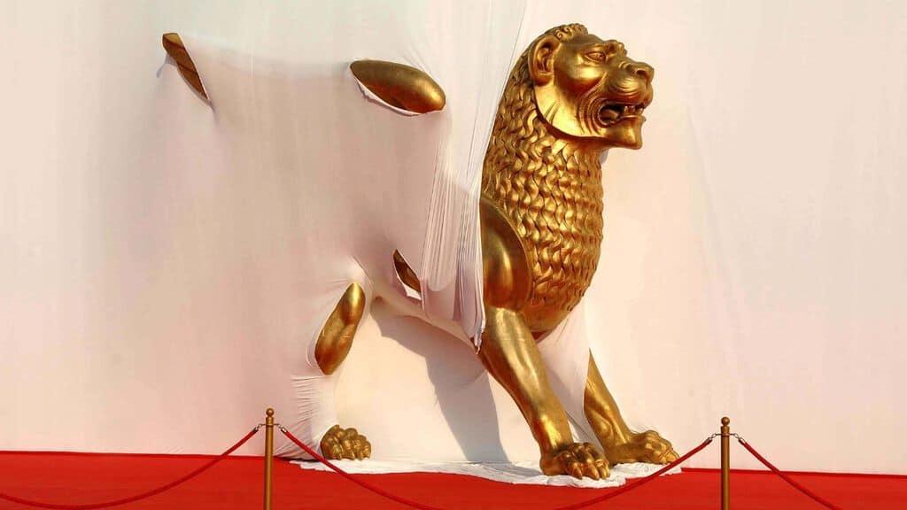il leone d'oro di venezia