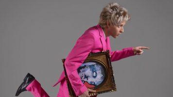 marco abrate il giovane artista torinese nelle vesti di mr pink