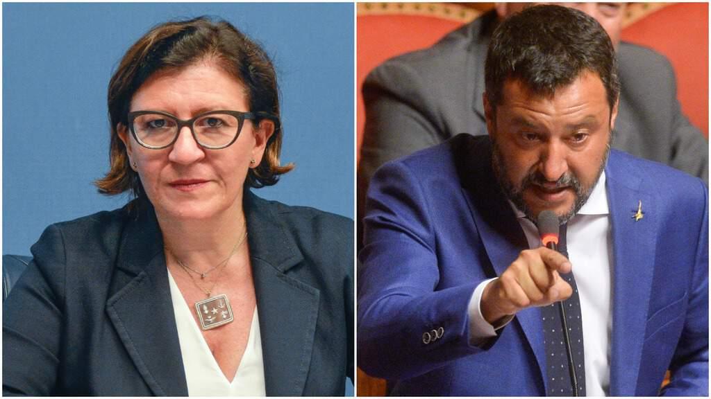 Ministro Trenta e il ministro Salvini