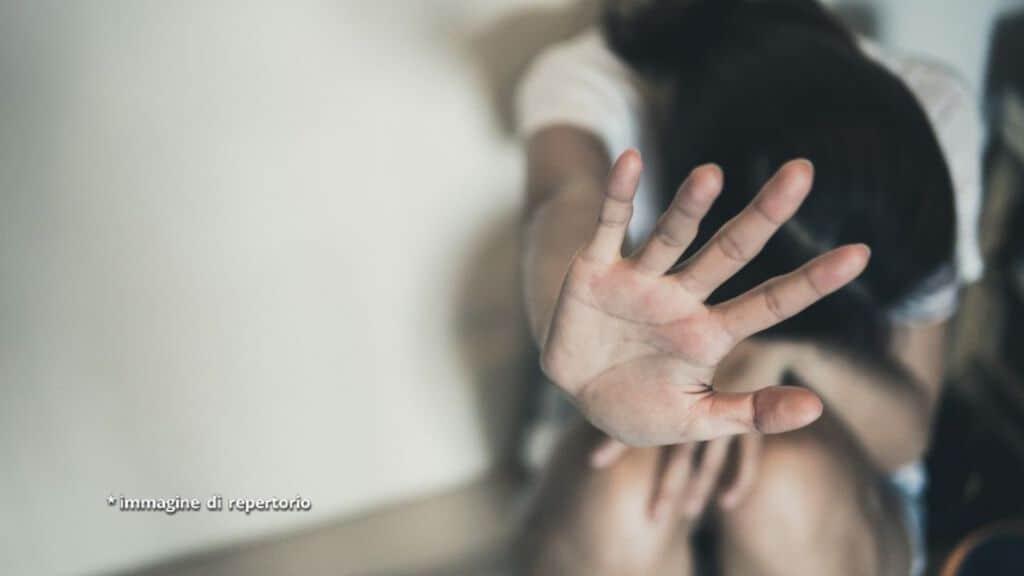 donna vittima di violenza