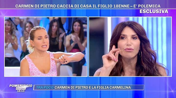 Carmen Di Pietro caccia di casa il figlio 18enne: bufera sulla showgirl
