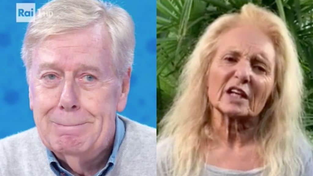 Claudio Lippi e Kerima Simula