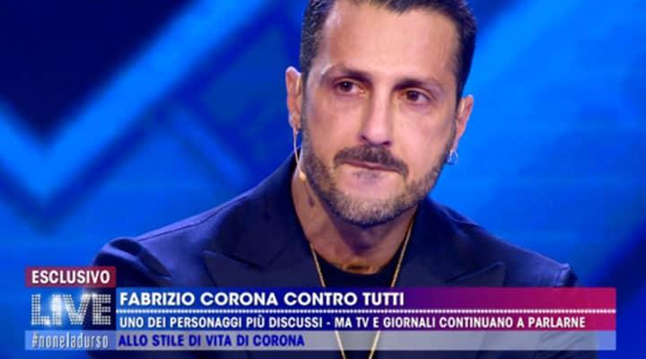 Fabrizio Corona provato in carcere: ecco i primi scatti da San Vittore