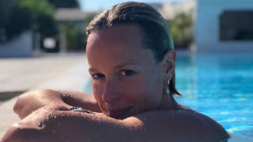 La nuotatrice Federica Pellegrini